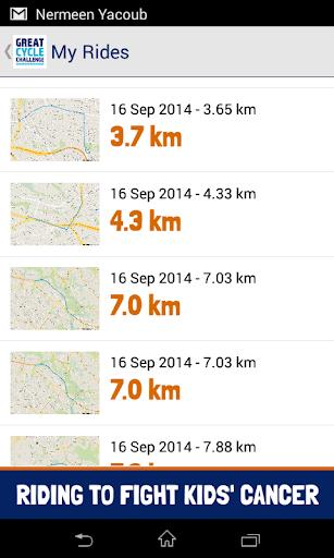 Great Cycle Challenge screenshot 5