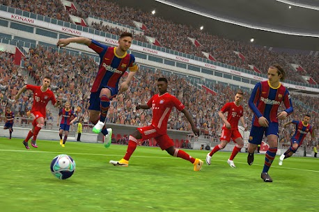 eFootball PES 2021 Mod Apk 5.5.0 (Unlimited Money) 3