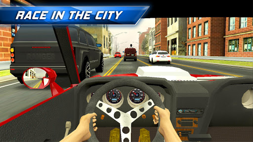 Racing in City - In Car Driving 3D Fast Race Game 2.0.2 screenshots 1