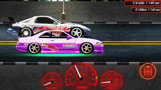 Japan Drag Racing 2D 22 screenshots 1