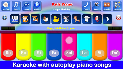 Kids Piano Free 2.8 Screenshots 6