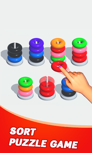 Color Sort Puzzle: Color Hoop Stack Puzzle 1.0.11 screenshots 17