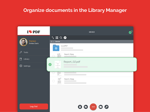 iLovePDF - PDF Editor & Reader 1.4.0 Screenshots 14