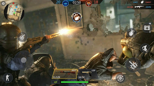 FPS Online Strike - Multiplayer PVP Shooter screenshots 14