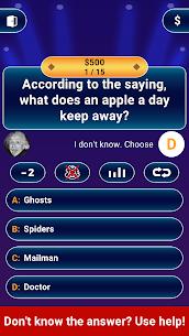 Free Millionaire 2021 –  Logic Trivia Quiz Offline Game Apk Download 2021 3