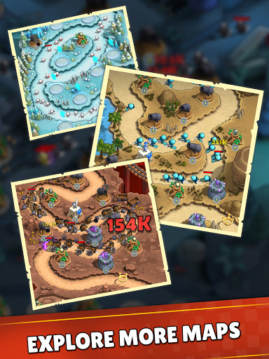 Mini War:Idle Tower Defense Varies with device screenshots 18