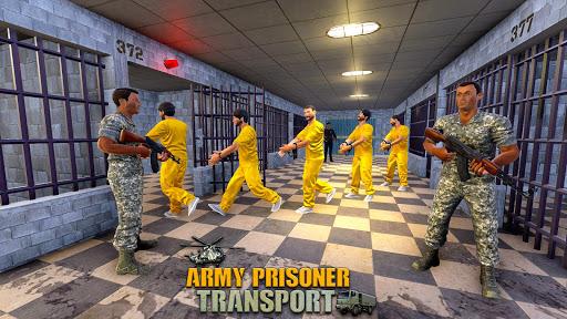 Army Prisoner Transport: Truck & Plane Crime Games  Screenshots 12
