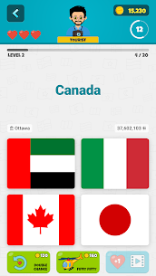 Flags of the World 2: Map – Geography Quiz Apk Download, NEW 2021 7