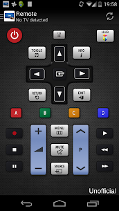 Remote for Samsung TV for PC 1