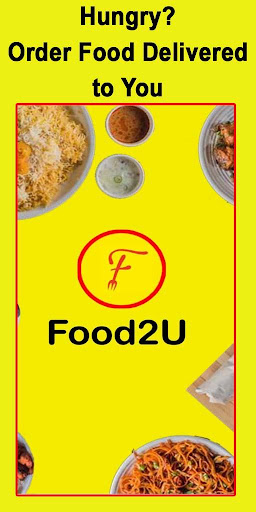 food2u - food ordering app screenshot 1