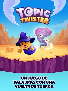 Topic Twister: Schermata del gioco Trivia Crack