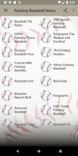 fantasy baseball news screenshot 2