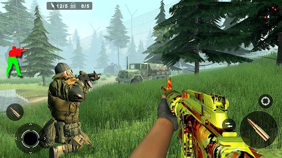 Jungle Counter Attack: US Army Commando Strike FPS Mod Apk