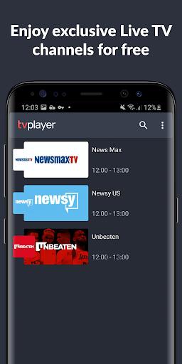 TVPlayer screenshots 2