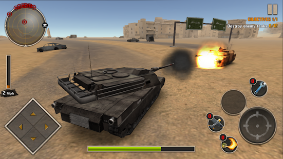 Modern Tank Force: War Hero Screenshot
