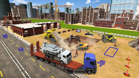 Excavator Construction Simulator: Truck Games 2021 1.5 screenshots 2