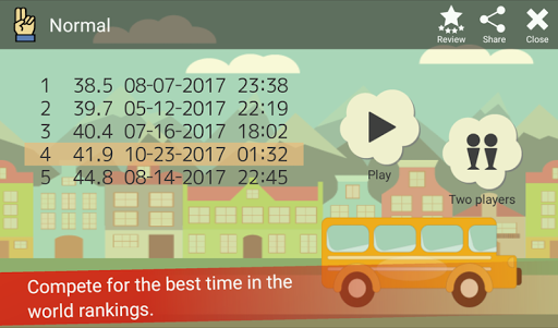 Tap the Numbers (Calculation, Brain training) 3.3.2 screenshots 5