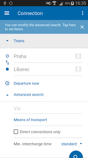 Czech Public Transport IDOS  screenshots 1