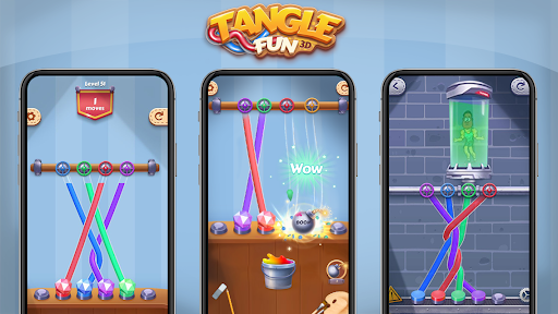 Tangle Fun - Can you untie all knots? 2.2.0 screenshots 14