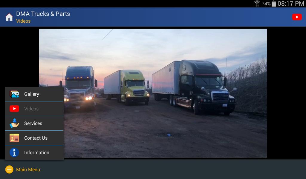 DMA Trucks & Parts screenshot 10