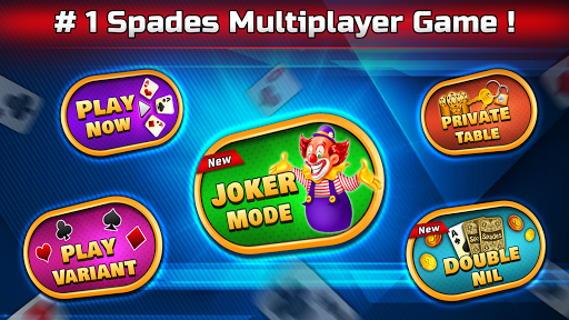 Spades Free - Multiplayer Online Card Game 1.7.1 screenshots 1