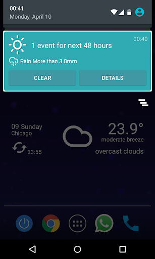 Custom Weather Alerts 5.1 Screenshots 5