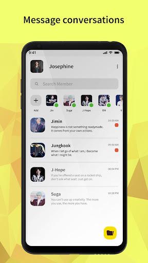 BTS Messenger - Chat with BTS Joke  screenshots 2