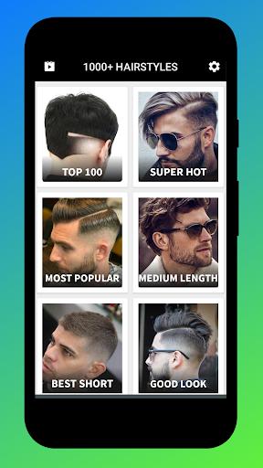 1000+ boys men hairstyles and hair cuts 2020 screenshot 1