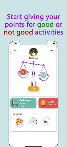 Points - Behavior tasks rewards  Screenshots 4