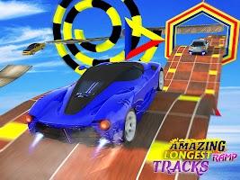 Open World GT Racing Car Stunt: Mega Ramps Driving