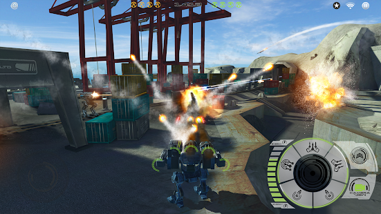 Mech Battle - Robots War Game Screenshot