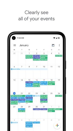 Foto do Google Calendar