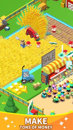 Idle Leisure Farm - Cash Clicker screenshots 2