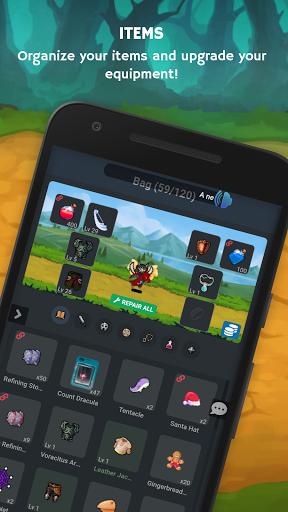 Mana Storia - Simple Browser MMORPG (Beta) 1.3 screenshots 8