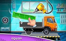 子供のためのトラックゲーム - 家屋 洗車のおすすめ画像1