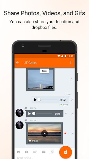 Voxer Walkie Talkie Messenger 3.18.20.21541 screenshots 4