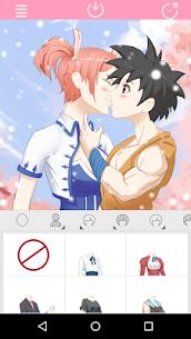 Anime Avatar Maker: Kissing Couple 1