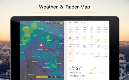 Weather Forecast - Live Weather Radar app 1.2.9 Screenshots 9