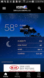 KSBY Microclimate Weather 5.3.703 screenshots 1