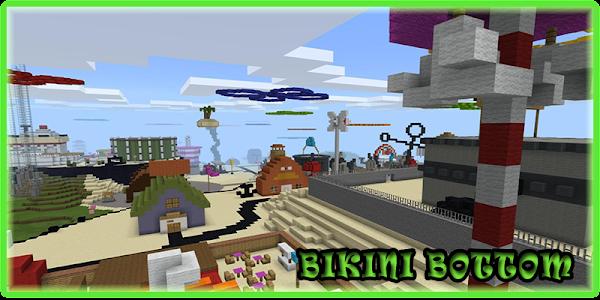 Mod Bikini Bottom Minecraft 3.24