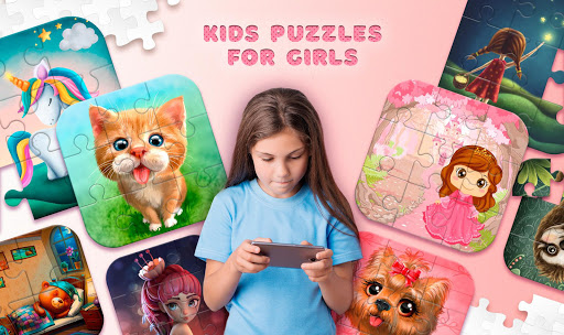 Kids Puzzles for Girls  screenshots 1