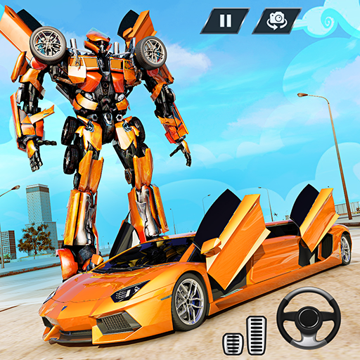 Real Limo Robot Car Transformation Games 2021