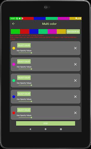 Color status bar - Customized Color & Wallpaper 47 screenshots 19