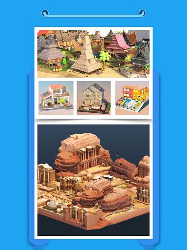 Pocket World 3D - Assemble models unique puzzle 1.8.9 Screenshots 10