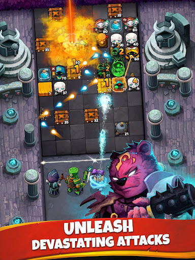 Battle Bouncers - RPG Puzzle Bomber & Crusher 1.13.0 screenshots 11