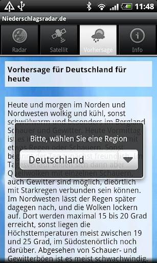 NiederschlagsRadar.de  screenshots 6