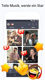 Tango - Live Video Broadcasts und Streaming Chats Screenshot