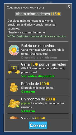 Crosswords - Spanish version (Crucigramas) 1.2.3 Screenshots 10