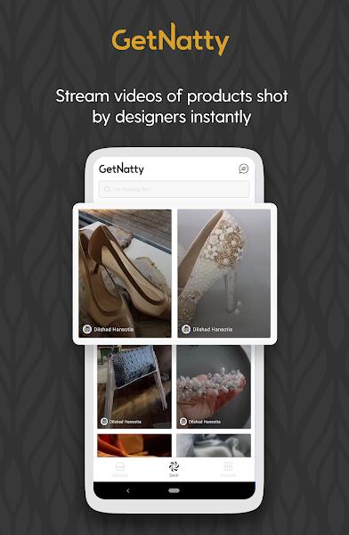 GetNatty - Video Shopping App   Made in India