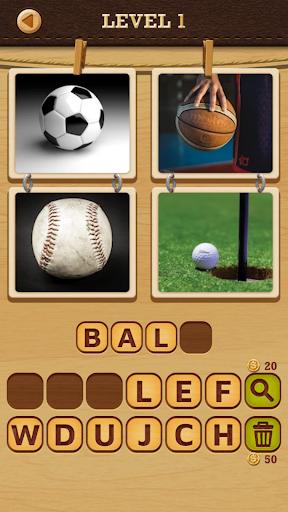 4 Pics Puzzle: Guess 1 Word 20.0723.09 screenshots 1